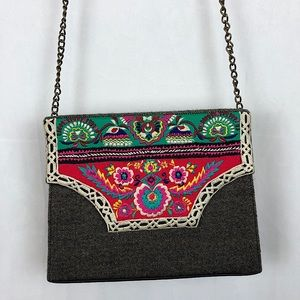 CHINYERE Hand Embroidered Crossbody Purse